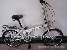 White Fashion Model Lady Pocket Bicycle Sports Bicycle