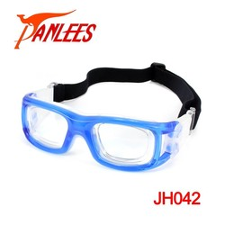 Anti Impact Basketball Soccer Protetive Handball Eyewear Glasses Goggles With Stylish Adjustable Strap & Another Myopic Frame