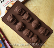Cake mold silicone chocolate mold with kinds of cute shapes
