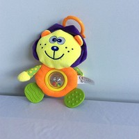 lovely infant educational toy/baby toy /hand shake bell ring baby rattle
