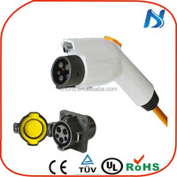 EV 240v 16a 32a 70a type 1 tuv ev charging electric car ac electric vehicle sae j1772 plug /outlet