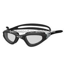fashionable swimming goggles, wide view swim goggles, fashionable swimming glasses