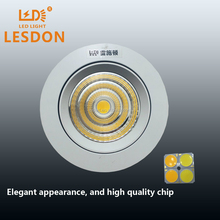 Big discount,25w adjustable led round recessed spot light with CE,C-Tick,SAA, RoHS certification