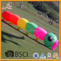Caterpillar kite, inflatble kite, large show kite from weifang kite factory.