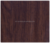 wengue color pvc film for plywood