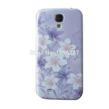 Mobile Phone Cover Mobile Shell 3D stereoscopic relief process for For Samsung Galaxy s4 I9508 I9500 cover (10 photo selection)