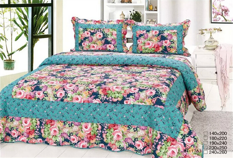 100 Cotton Machine Embroidery Design Bed Sheets View Machine