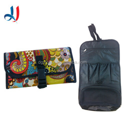 High Quality Colorful Wash Toiletry Bags Hanger Travel Personal Storage Leather Bag