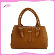 Alibaba Wholesale handbag china middle size pu leather shoulder bag