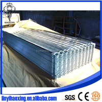 Building Material zinc coated metal roof tile for building