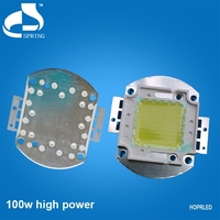 Gold wire 100w high power white led chip