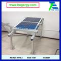 Solar soportes de tipo solar de tierra de montaje del sistema muestra