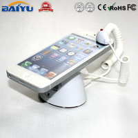 Retail shop anti-theft alarm display device for mobile phone