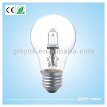 made of environmental material dimmable energy saving halogen lamp A60 A19
