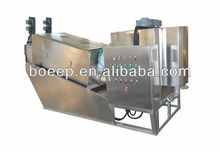 completo automático de prensa de tornillo para el tratamiento de aguas residuales
