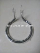Partes del secador de pelo y elemento calefactor