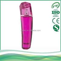 A777-50ML elegant curve glass perfume and fragrances bottle