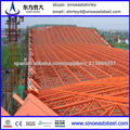Portal Estructura de marco de acero de construcción con la vida de 50 años de servicio
