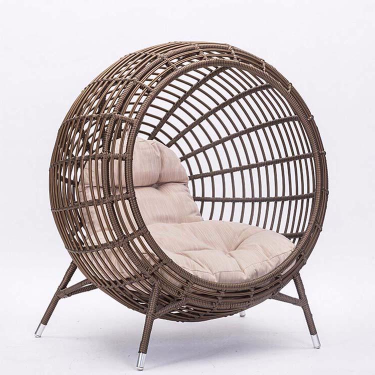 nid creative club house piscine rotin ronde chaise longue chaise salon pour jardin chaises en. Black Bedroom Furniture Sets. Home Design Ideas