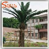 5 years life time of artificial outdoor palm trees pots wholesale electric palm tree