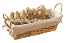 Tela canasta de pan para hamburguesa( surtidor de la fábrica)