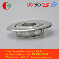 Decorative circle and Fire equipment accessories with all kinds of glass ball fire sprinkler