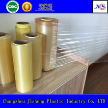 6000m length flexible blow transparent soft pvc film