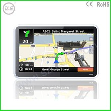 4.3 Inch Rearview Mirror LCD Monitor Car GPS navigation,MTK,wince 6.0,Bluetooth,AVIN,FM,DDR128M,4GB,latest map