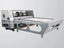 Chain feeding rotary slotter machine