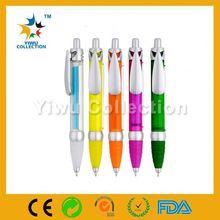 promotional touch factory ballpen,stylus pens with glitter,led light bulb pen
