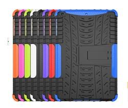 Factory price hybrid hard pc +soft tpu case for ipad mini 3