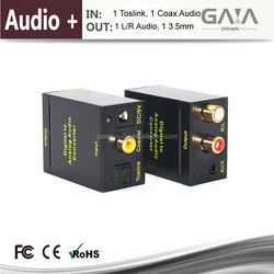 Digital to RCA L/R Analog Audio hdmi Converter with Support 1080P 3D hdmi converter