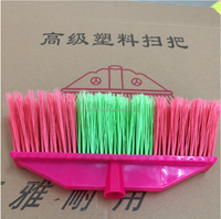 Good quality Plastic broom suitable for long/short wooden handle