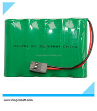 Battery Packs 6V Nimh 6 V AA 2200mAh NiMH Battery Pack 6V Rechargeable Batteria Pack