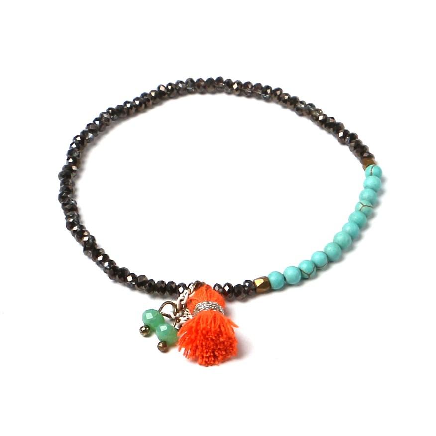 Pour femme en cristal mélangé amitié charme bracelet chine en gros chinois
