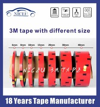 3m adhesive double sided acrylic tape 2mm,6mm,8mm,10mm,12mm