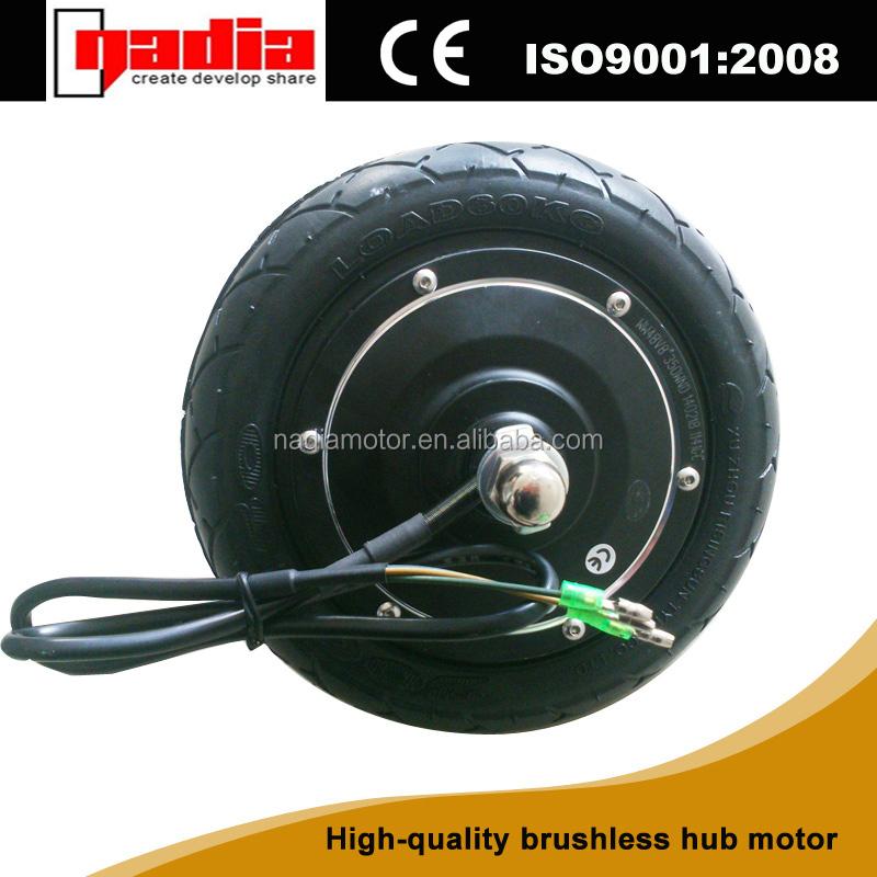 8 Inch 36v Brushless Electric Wheel Hub Motor Gearless