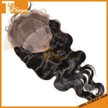 """Natural Black color length 8-28"""" cambodian body wave human hair full lace sew in wig"""