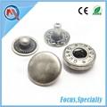 10mm complemento botón y cierre de presión para la ropa