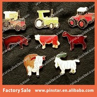 High Quality Farm animals tractor equipment Farm lapel pins