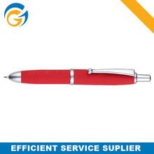 Promotional Short Red Metal Ball Pen