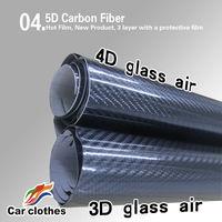 1.52x20m Car Sticker Vinyl Roll 5D Carbon Fiber Vinyl Wrap