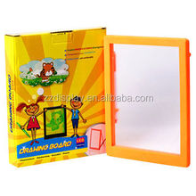 Promotion ZD Rewritable Colorful Play Toy Kid With Fluorescent Pen LED Message Sign On/Off Button Children Drawing Board