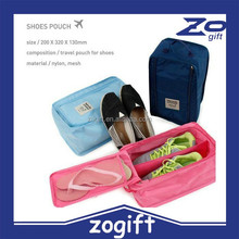 ZOGIFT Travel goods quality waterproof shoe bag, color bamboo storage bag