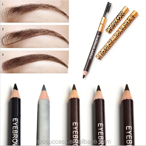 Eyeliner and Eyebrow Pencil with brush (5)