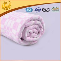 Good Quality Warm And Soft Baby Cotton Jacquard Brand Names Of Blanket