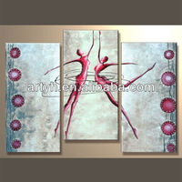 Wholesales modern handpainted abstract interior decoration wall art