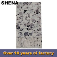 shena for sale student wholesale plain white silk scarves