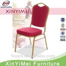 2015 hot sale foshan cheap hospitality stacking iron banquet chair