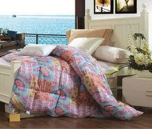 Royal Cotton Printed 90% Gray Duck Down Comforter